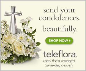 teleflora.com Send your condolences. Beautifully